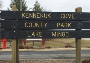 Kennekuk County Park Sign