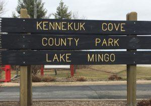 Kennekuk County Park Sign