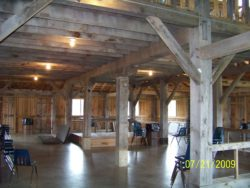 Laury Barn inside