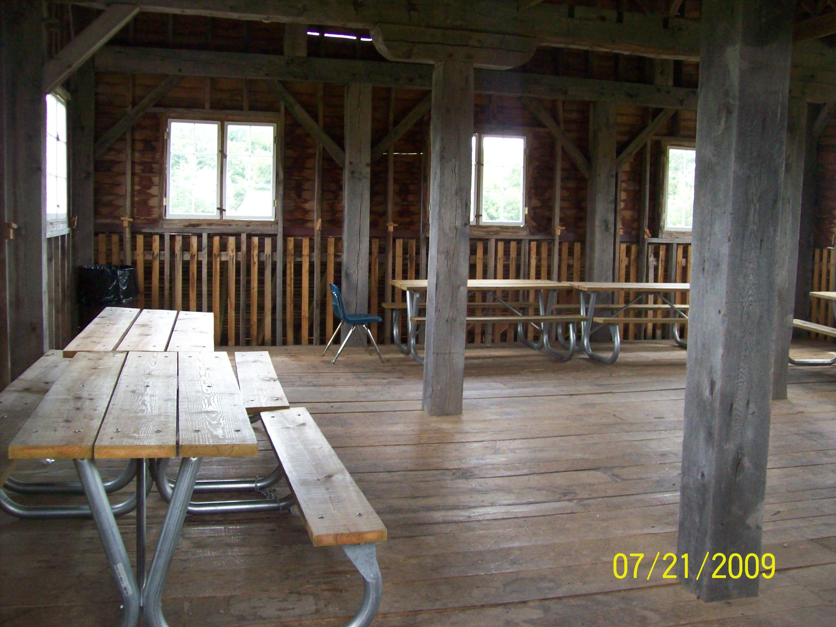 Laury Barn upstairs