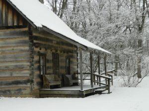 Pioneer Cabin - winter