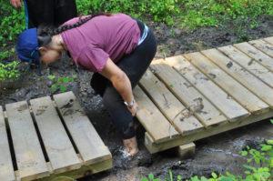 Catholic Heart Workcamp Trail Repair