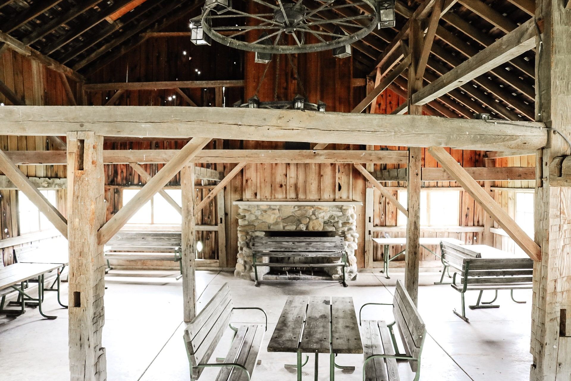 Audubon Barn inside