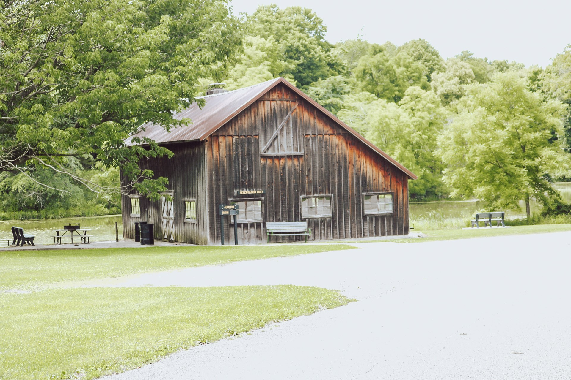 Audubon Barn outside