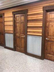 white oak barn restrooms